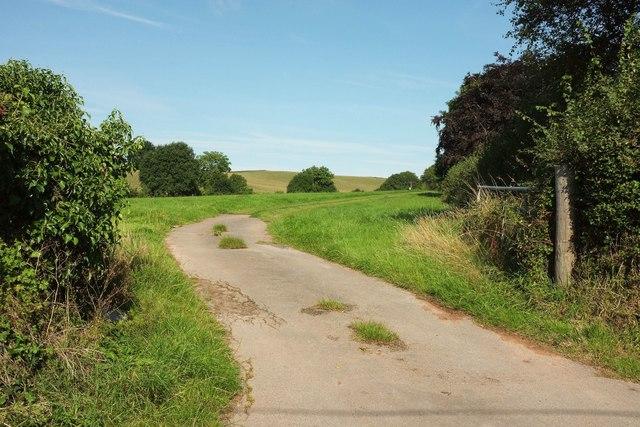 Caravan site, Woodbury