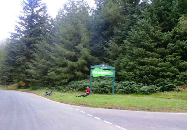 The Entrance to Whinlatter Forest Visitor Centre