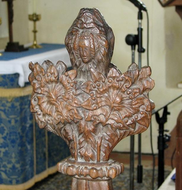 All Saints church, Poringland - poppyhead