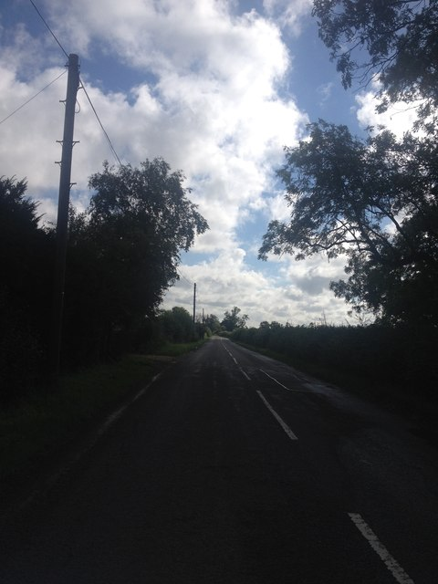 Oakley Road near Pipewell