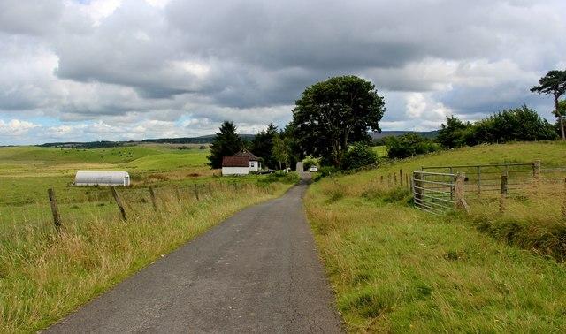 Shieloans, a farm house