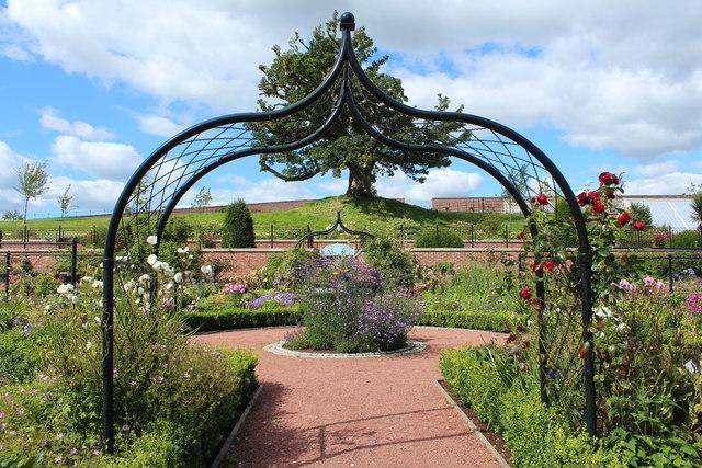 Arches, Queen Elizabeth Walled Garden