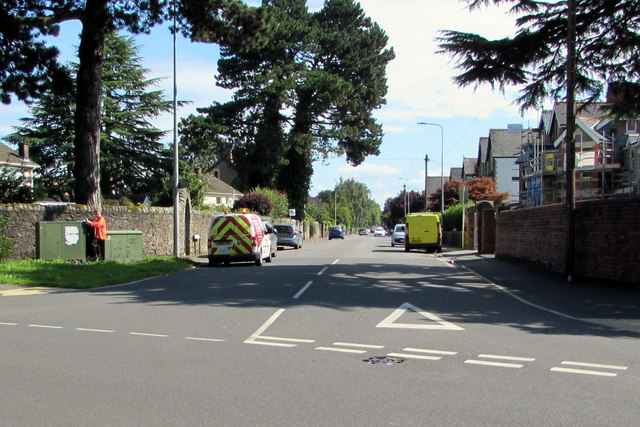 Western end of Church Road, Whitchurch, Cardiff