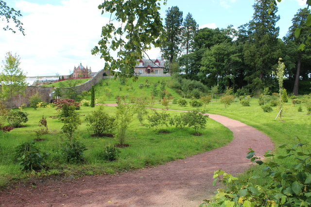 Path to the Walled Garden, Dumfries House
