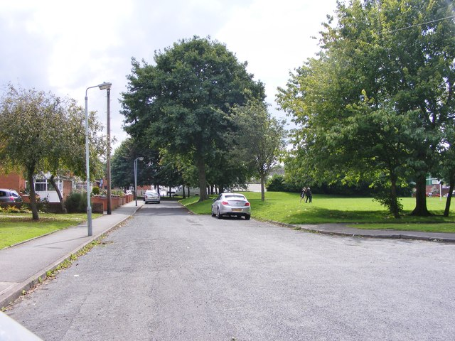 Oak Street Scene