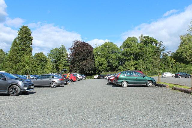 Car Park, Dumfries House