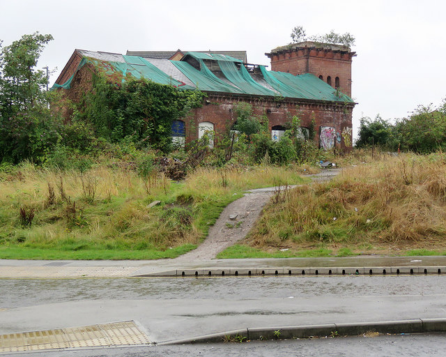 Derby: remains of the Engine House at Friargate Goods Yard
