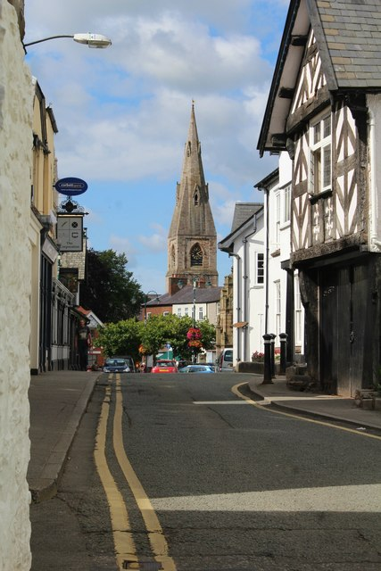 View from Castle Street, Ruthin