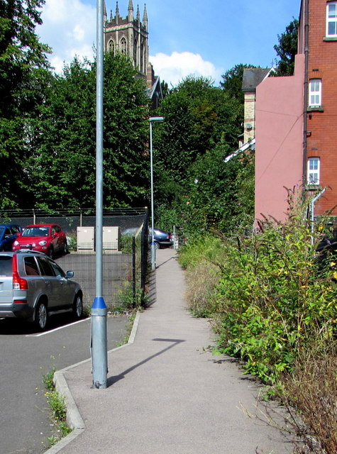 Footpath to Devon Place, Newport