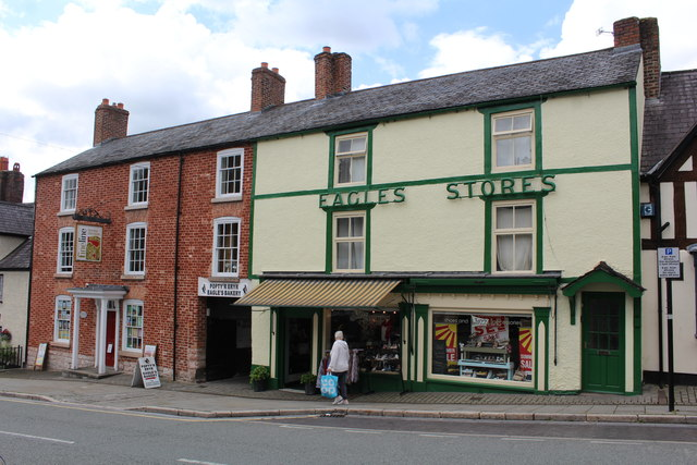 Eagles Stores, Clwyd Street, Ruthin