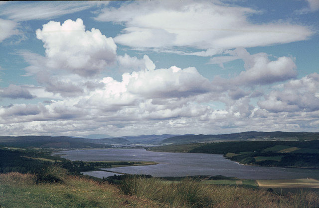 The Dornoch Firth / Kyle of Sutherland, viewed from next to the Struie road