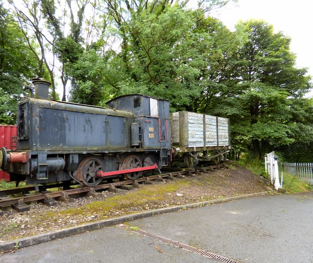 Old railway rolling stock