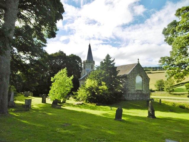 Llanarmon Dyffryn Ceiriog, St. Garmon's