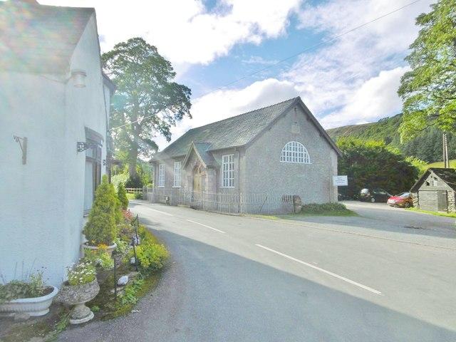 Llanarmon Dyffryn Ceiriog, chapel