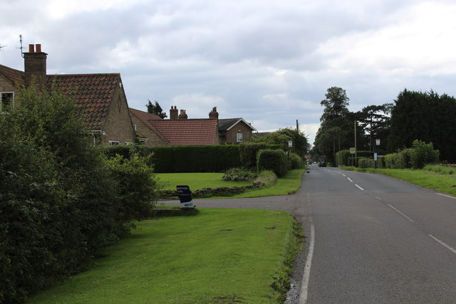 Entering Stockton on the Forest from the North East