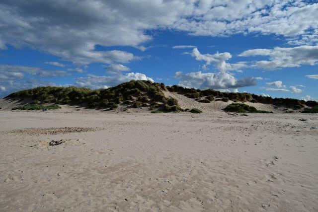 Dunes east of Bamburgh