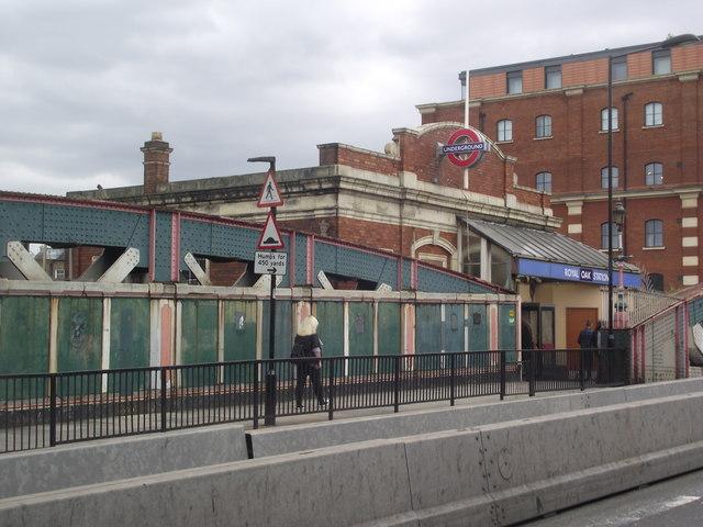 Entrance to Royal Oak Station