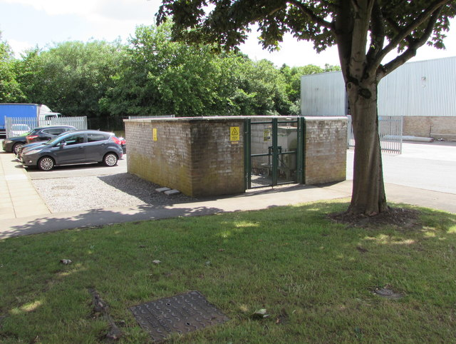 Waverley Road electricity substation, Beeches Industrial Estate, Yate