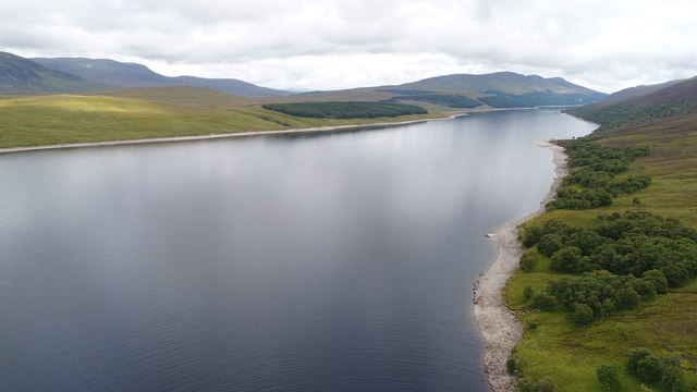 Looking North on Loch Eritch