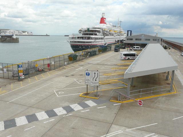 Black Watch moored beside the Admiralty Pier