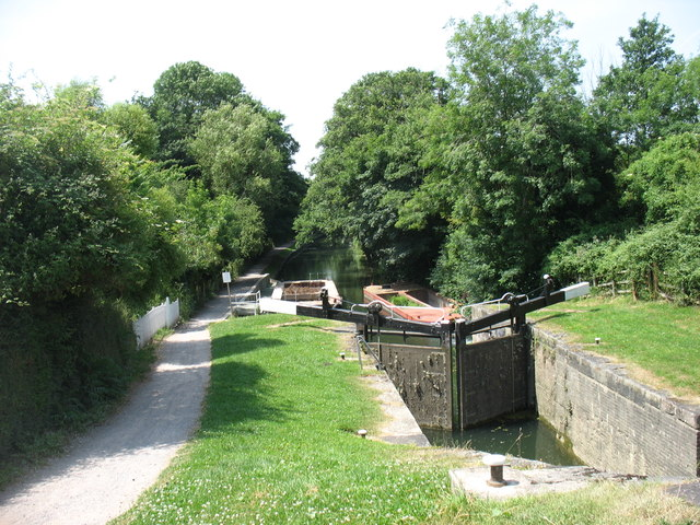 Locks on the Stroudwater Canal