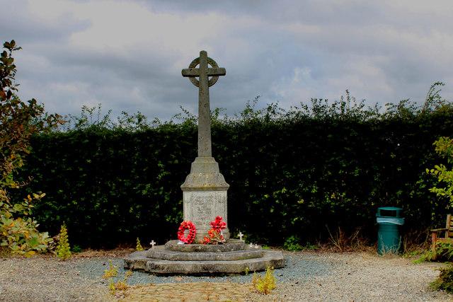 War Memorial near Sand Hutton