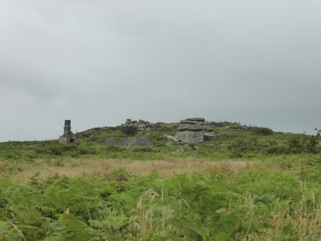 The Cheese Wring on Carbilly Tor