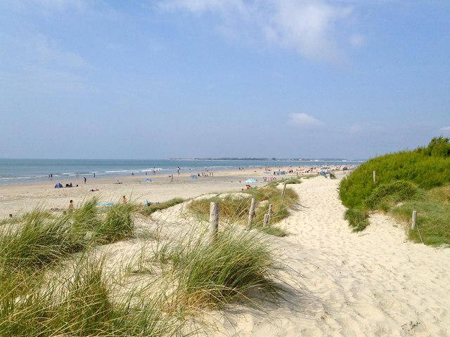 Dunes and beach, West Wittering