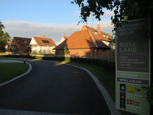 Rose Lane development, Great Chesterford