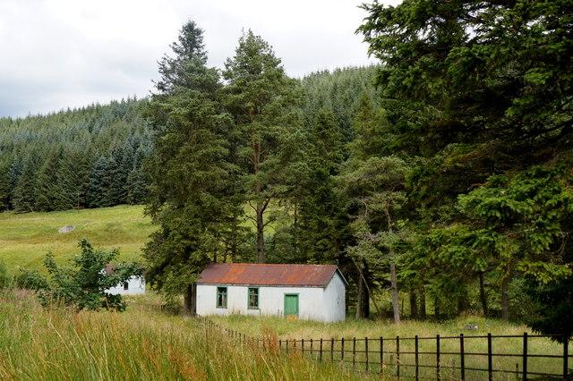 Small hut near Tweedsmuir