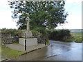 SX0771 : Helland War Memorial by Rod Allday