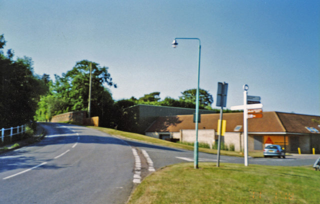 Site of Lavenham station, 2003