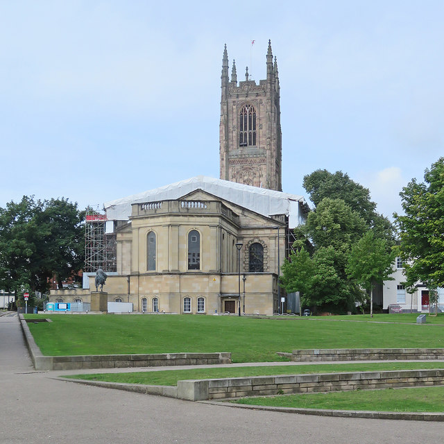 Derby Cathedral: roof repairs