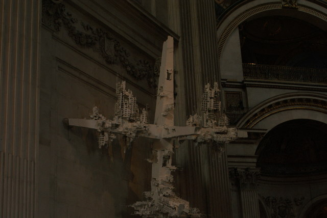 View of a sculpture in St. Paul's Cathedral #2
