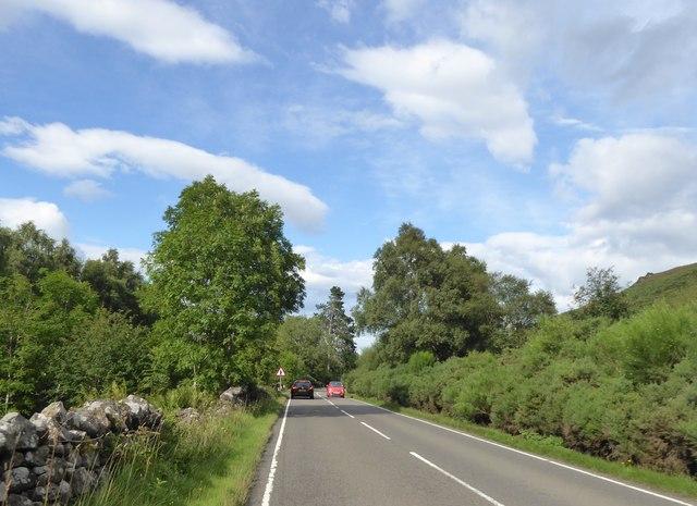 A82 by Loch Uanagan