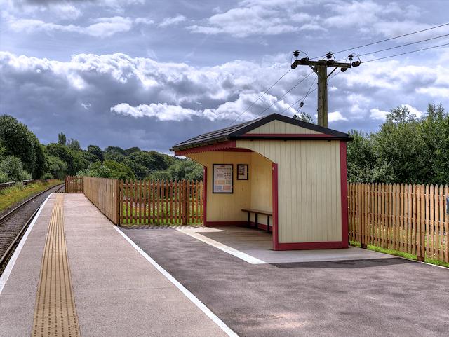 East Lancashire Railway, Burrs Halt