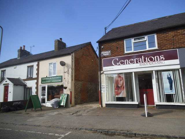 Shops on Thame Road, Chinnor