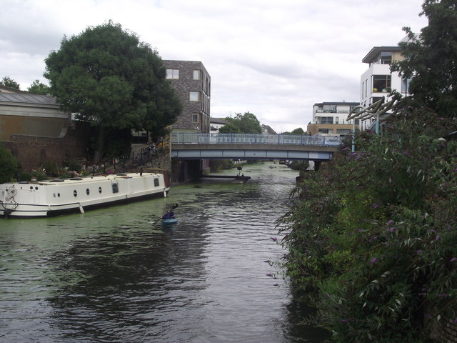 Ladbroke Grove crosses the Paddington Arm