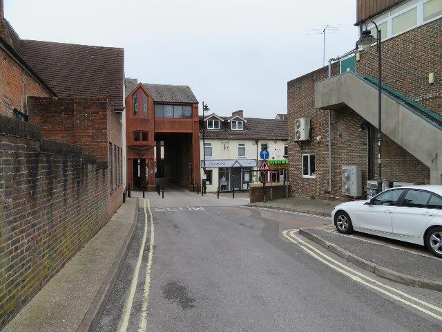 Access to Haymarket Yard