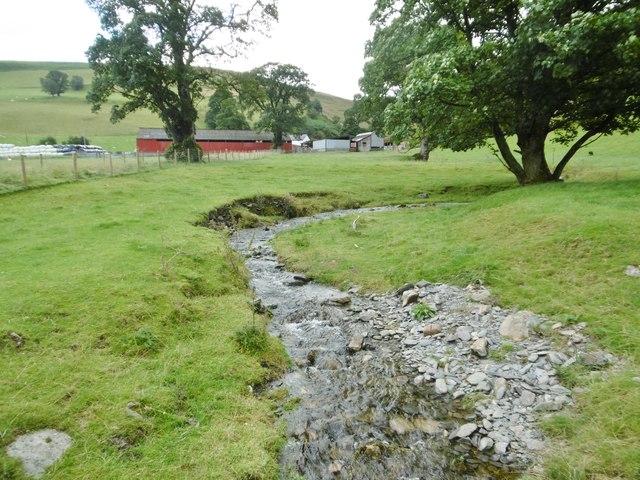 Llanarmon Dyffryn Ceiriog, stream