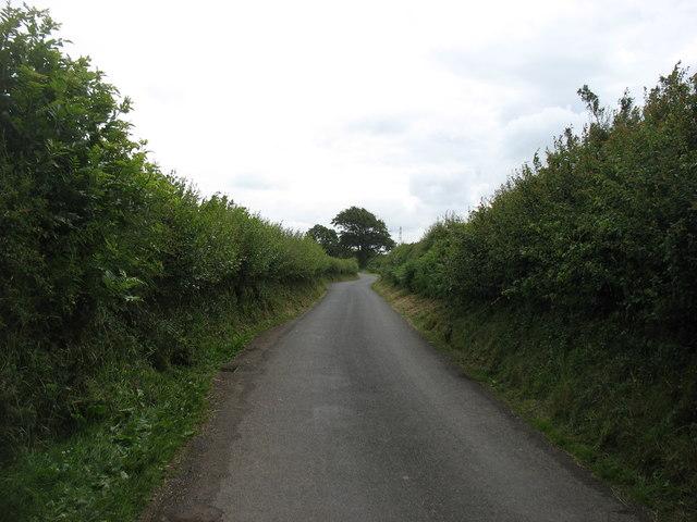 A lane leaving Allerby