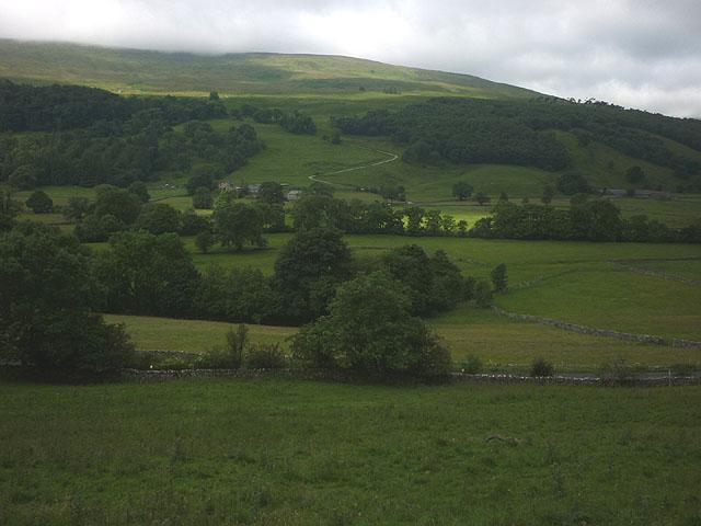 Pastureland north of Buckden