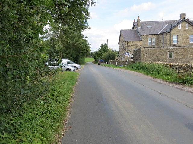 Back Road at Woodside Cottages