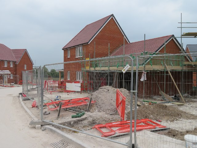 New builds - Saunders Way