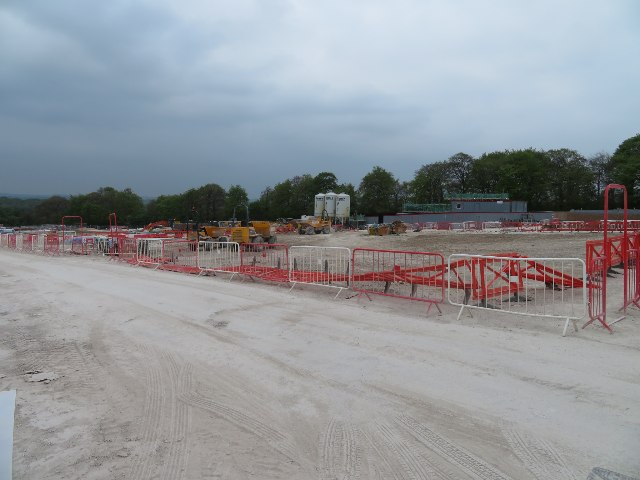 View across the second phase site