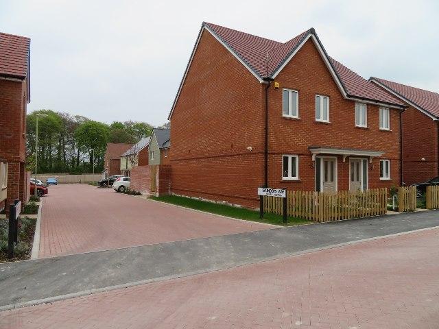 Houses off Saunders Way