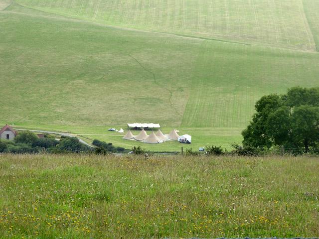 Encampment, Oxendean, Jevington