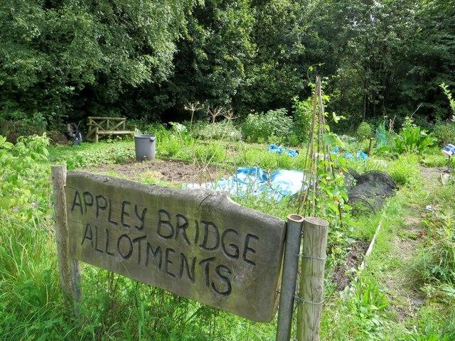 Appley Bridge allotments