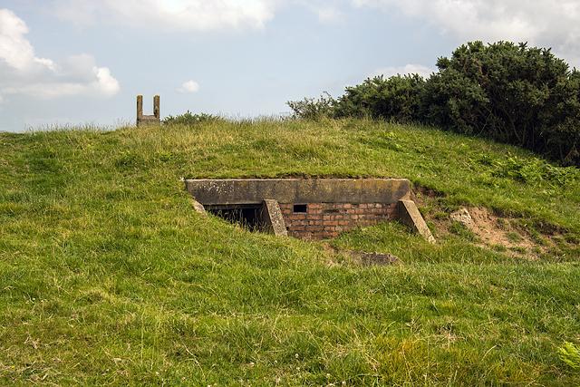 North Wales WWII defences: RAF Nefyn - Chain Home Radar Station - Fifth Bunker (12)