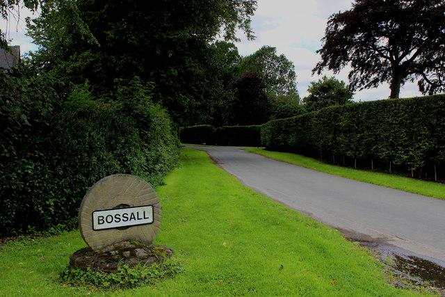 Entering Bossall